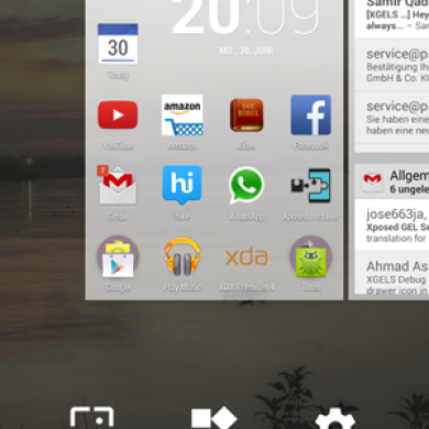 Xposed GEL Settings Updated to Change Google Now Launcher to Android L Style