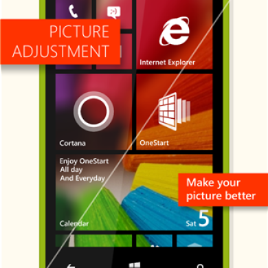OneStart Spices Up Your Windows Phone 8.1 UI with Color