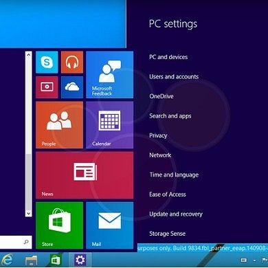 It's Coming! Windows 9 Screenshots Surface