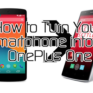 How to Turn Your Smartphone into a OnePlus One – XDA Developer TV