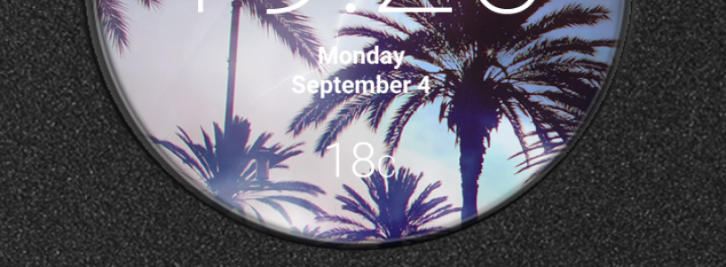 Take Advantage of the LG G3's Quick Circle Case with These Cool Graphic Clocks