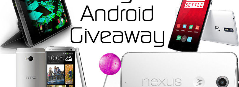 Big Android Giveaway – XDA TV
