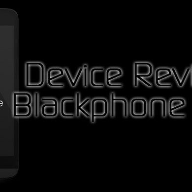 Device Review: Blackphone BP1