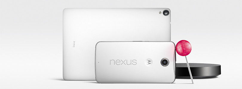 Google Announces Nexus 6, 9, and Player, Alongside Android 5.0 Lollipop