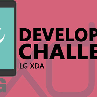 XDA LG Development Challenge Winners