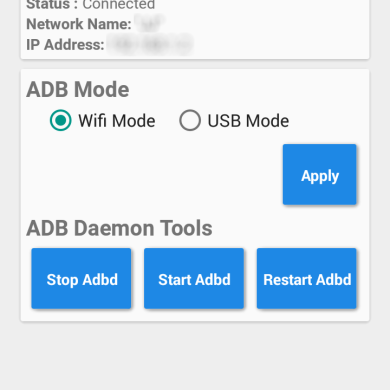 ADB Tools Connects Your Android Device with ADB over WiFi