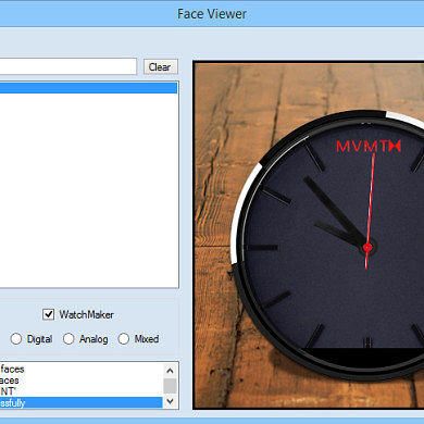 Get Your Moto360 Watch Faces in Order with Face View