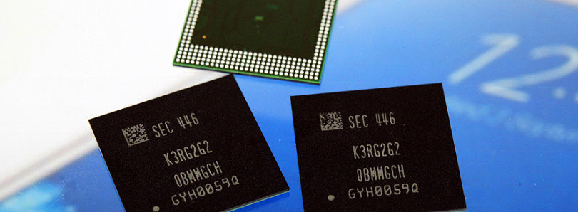 Samsung Begins Production of 8-Gigabit RAM Chips