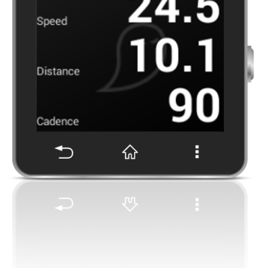 Race Against Ghosts on the Sony Smartwatch