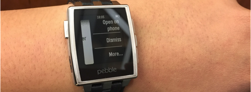 Get Android Wear Notifications On Your Pebble