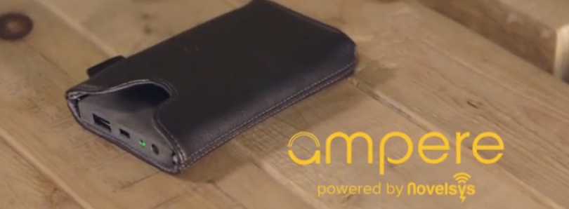 Ampere: A Smart Wireless Charging Phone Sleeve
