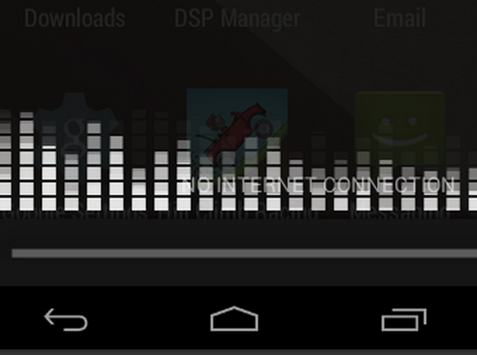 Graphic Equalizer on Your Notification Panel