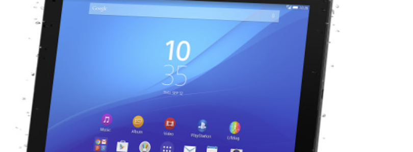 Sony Xperia Z4 Tablet, The Thinnest 10″ Tablet, Now Official