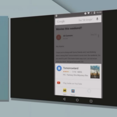 I/O Summary: Google Now on Tap
