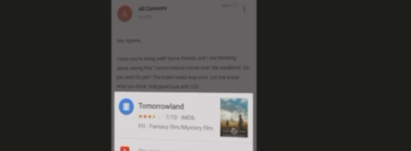 Google Now Marches Forward with 'Now on Tap'