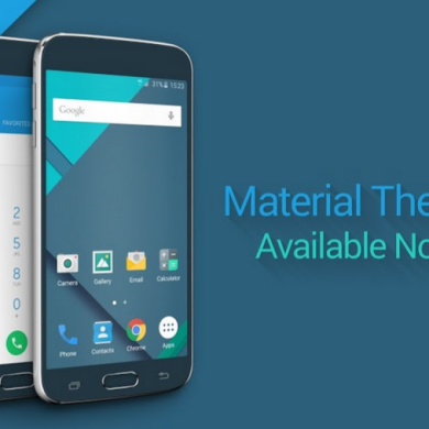 Stock Lollipop Theme Now Available for S6 Theme Engine