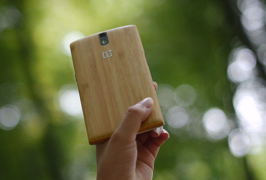 official photos b3c3f 33b7e OnePlus One Bamboo Styleswap Cover Review