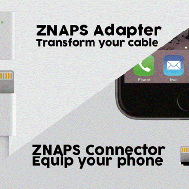 ZNAPS Brings Reversible Magnetic Chargers to Any Phone