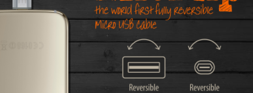 MicFlip Is A Fully Reversible USB-A To Micro-USB Cable