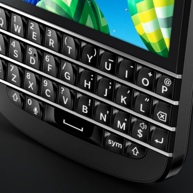 Blackberry and a Possible Comeback for Physical Feedback in Keyboards