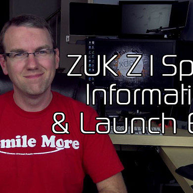 ZUK Z1 Specifications, Info and Launch Event – XDA TV