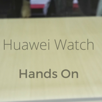 Hands On with the Huawei Watch
