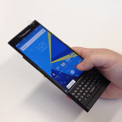Hands-On Video Shows Blackberry Venice Running Android