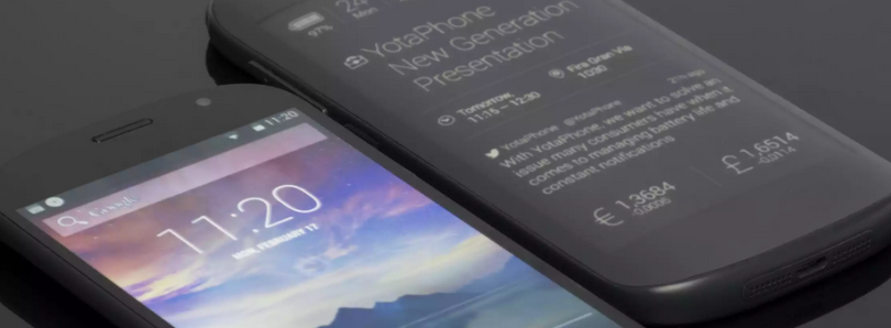 The maker of the dual-screen YotaPhone goes bankrupt