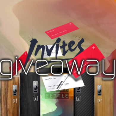 OnePlus 2 Invite Giveaway Winners