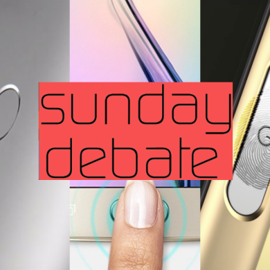 Sunday Debate: Which Fingerprint Scanner Placement is Best?