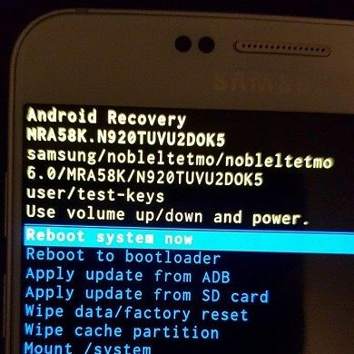 Galaxy Note 5 Marshmallow System Dump Available!