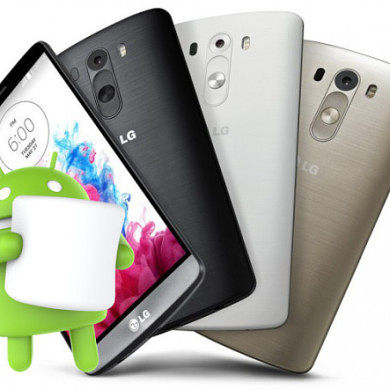 LG G3 Set to Receive a Marshmallow Update in December