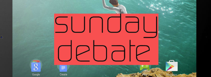 Sunday Debate: How Can Android Tablets Rise Again?