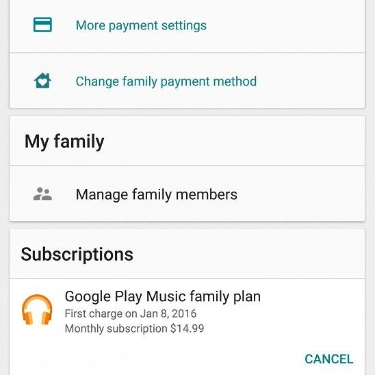 Google Play Store Version 6.8 Hints At Sharing Music Purchases On A Family  Plan, Improved Data ...