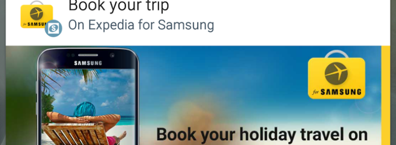 Samsung, Stop Putting Trash in My Notification Tray