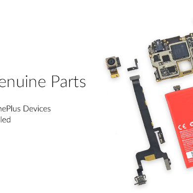 OnePlus Releases Price List for Spare Parts in India