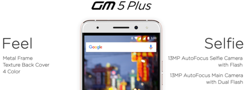 Android One Aims for High End with the GM 5 Plus