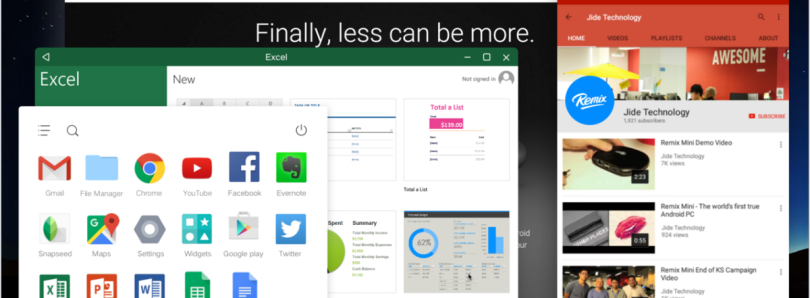 Remix OS For PC Exits Alpha, Brings Major Update