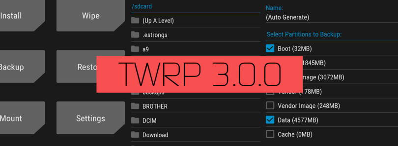 TWRP 3 0 0 Has Been Released