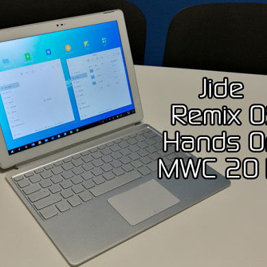 Jide Remix OS Hands On & Demo at MWC 2016