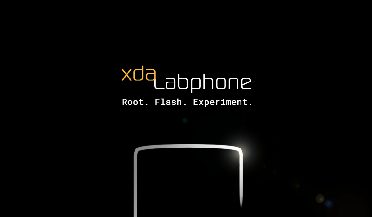 DAY1] Introducing the XDA Labphone -- Smooth, Sleek, and Ready to Flash