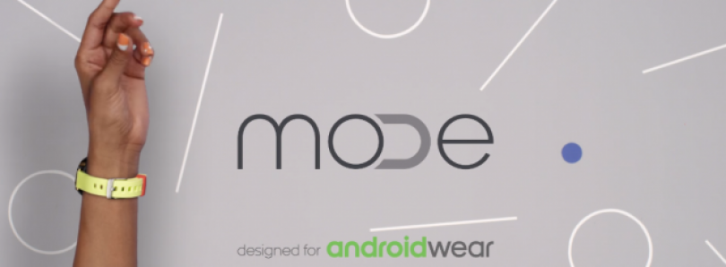 Google Introduces MODE: Snap & Swap bands for Android Wear Smartwatches
