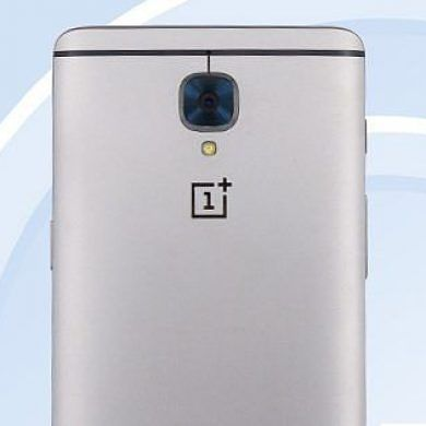 OnePlus 3 Arrives on TENAA Website in Full Spec and Design Glory
