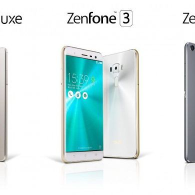 ASUS Unveils the ZenFone 3 Lineup at Computex 2016