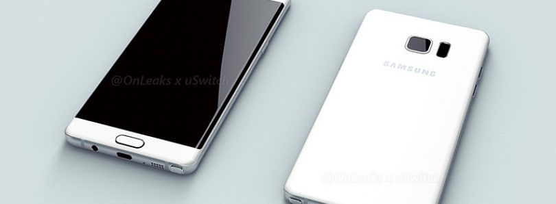 Samsung Galaxy Note 6/7 Renders Show Off Dual Edges