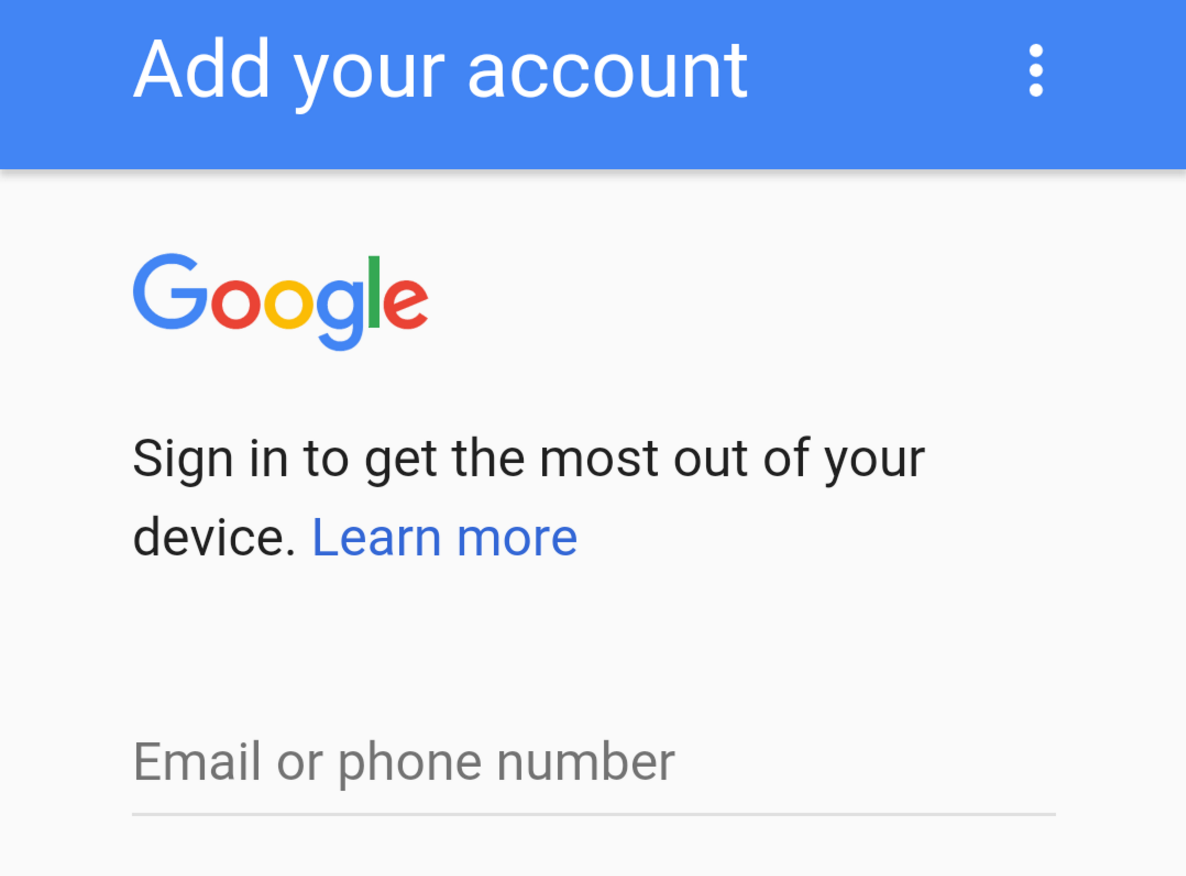 activate android phone number