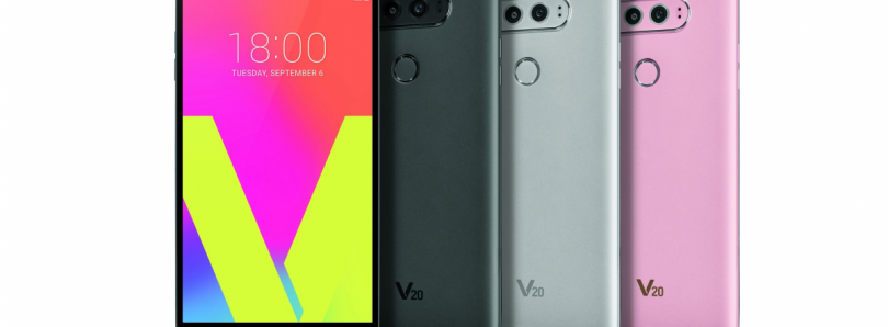 LG V20 Goes Official with Dual Displays, Dual Rear Cameras and Quad DACs