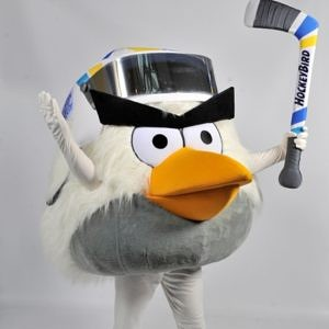 Hockey Bird (Angry Birds 2012 IIHF Ice Hockey World Championship)