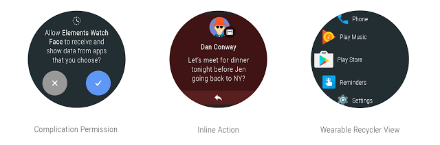 Android Wear 2.0 Dev Preview 3