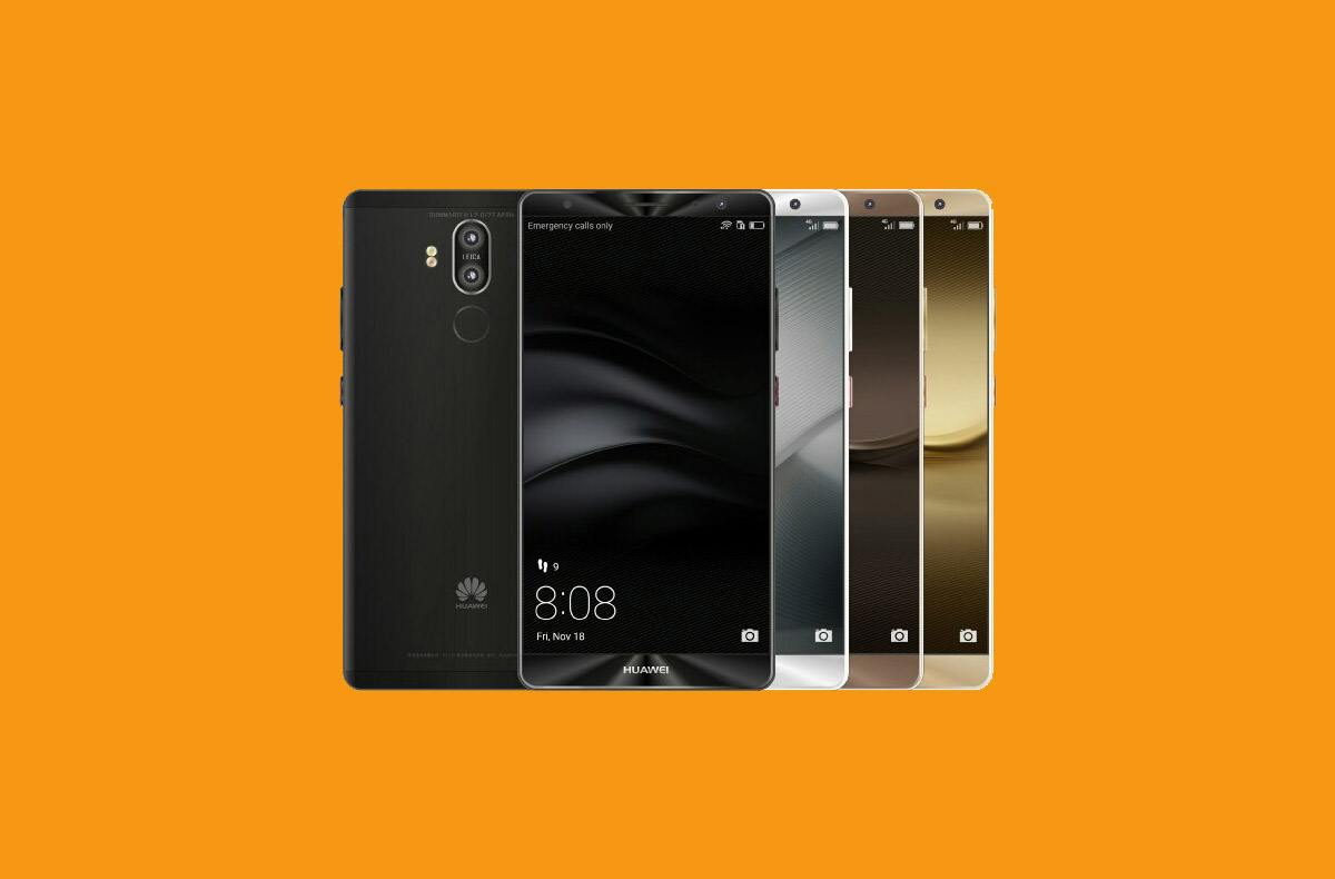 Huawei Mate 9 gets the EMUI 9 (Android Pie) update in China